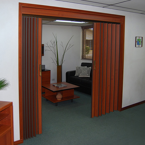puerta plegable espacioflex